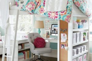 تصاميم غرفة نوم أطفال بنات كبار دورين