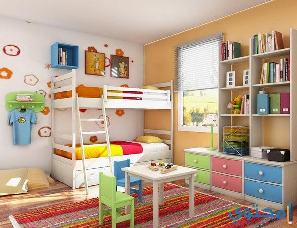 غرف نوم أطفال مودرن