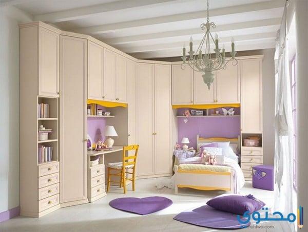 تصاميم غرف أطفال للبنات