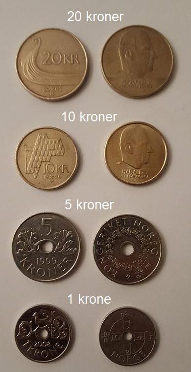 تصميم عملة الكرونة النرويجية
