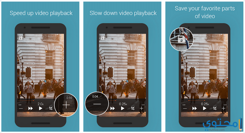 تطبيقات تصوير Slow Motion للهواتف الأندرويد