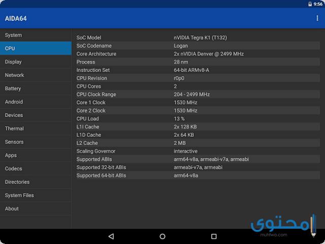 تطبيق AIDA64
