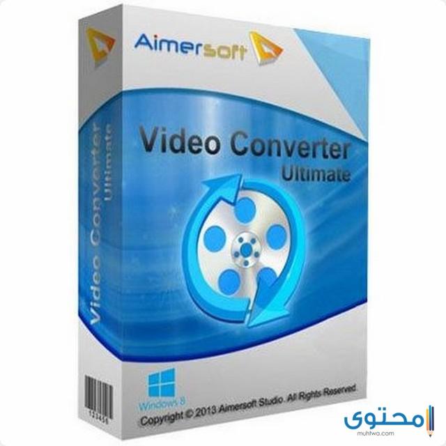 تطبيق Aimersoft Video Converter
