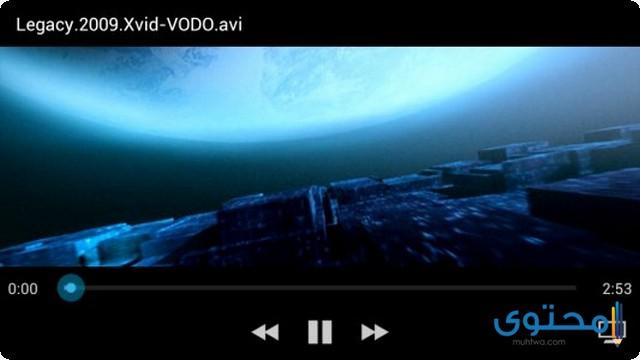 تطبيق Android Video Player