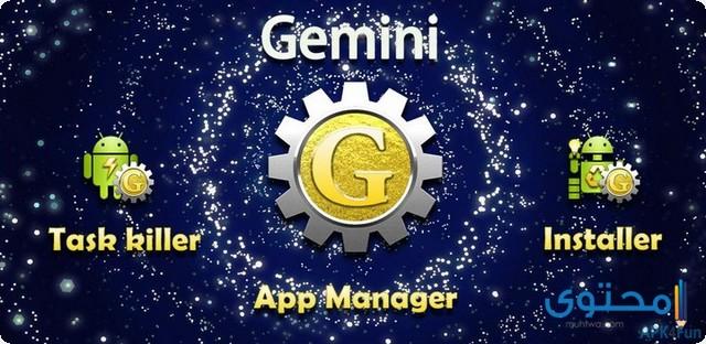 تطبيق Gemini App Manager