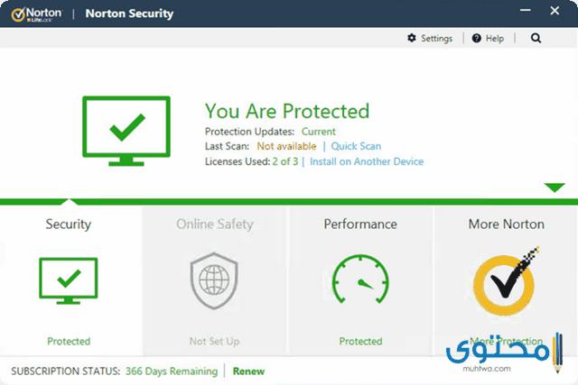 تطبيق Norton Mobile Security and Antivirus
