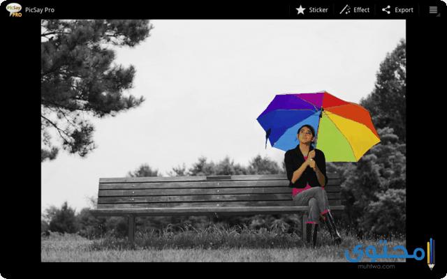 تطبيق PicSay Pro - Photo Editor