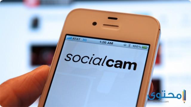 تطبيق Social cam