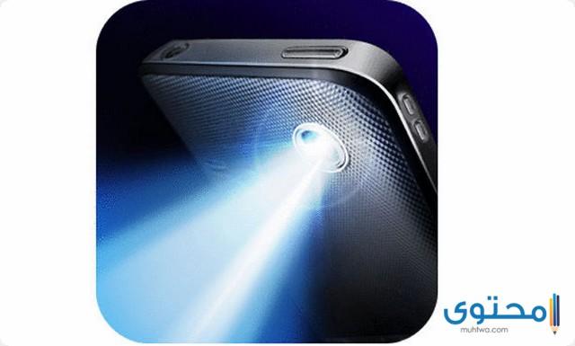 تطبيق Super-Bright LED Flashlight