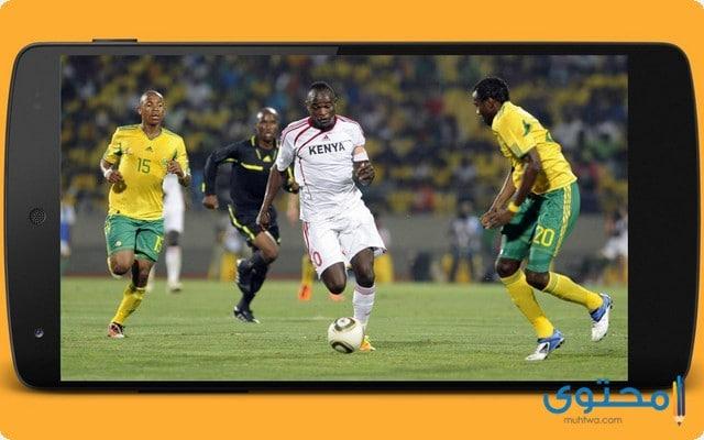 تطبيق live soccer tv