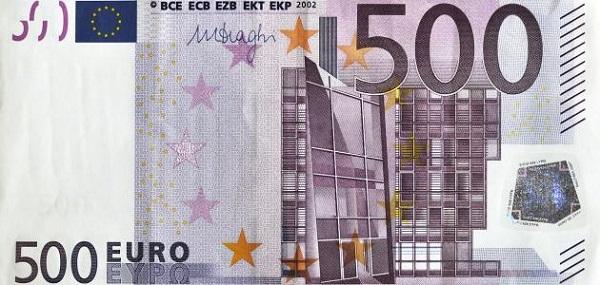 تطور ظهور اليورو الفرنسي
