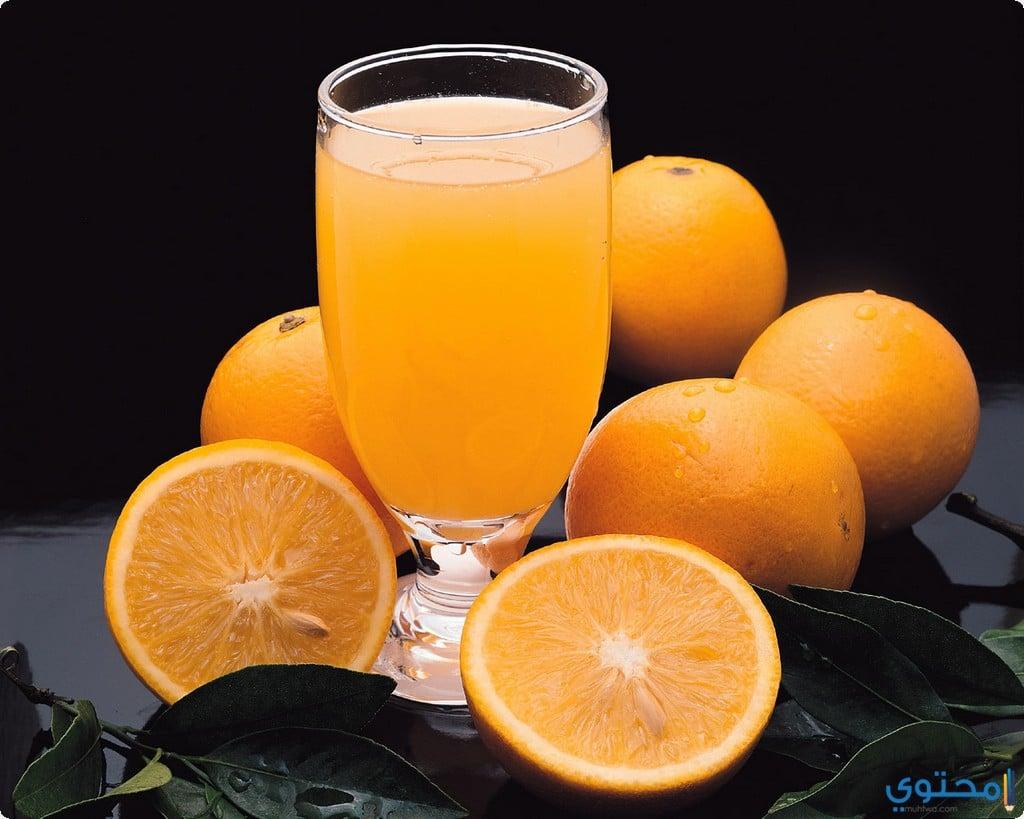 وصفة التفاح وعصير البرتقال