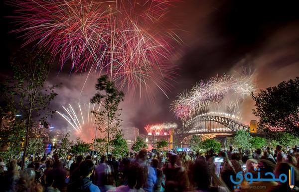 طرق الإحتفال برأس السنة الميلادية حول العالم