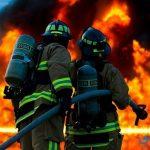 تعبير عن مهنة رجل الإطفاء