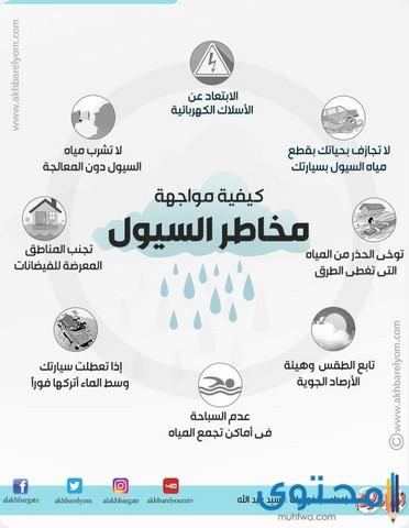 بحث عن تعريف السيول
