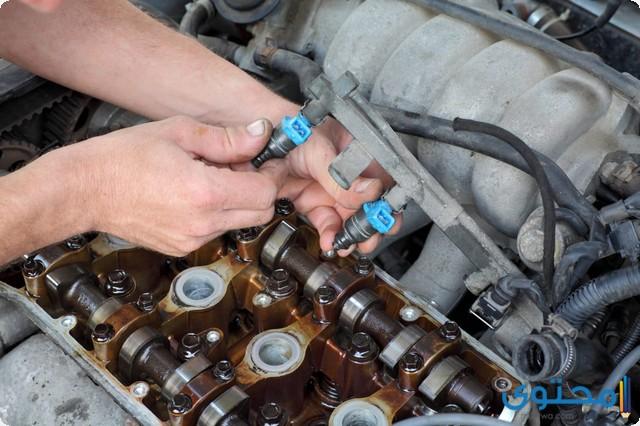تغيير فلتر البنزين في السيارة