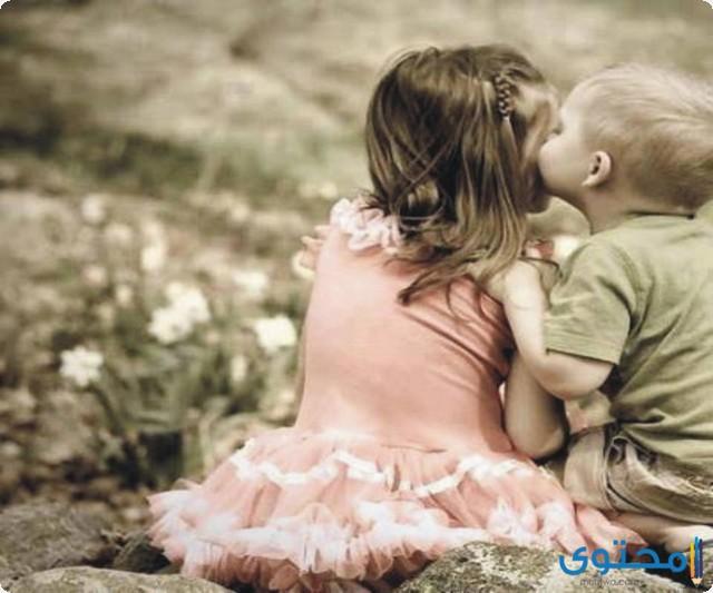 تفسير تقبيل ابن الأخ