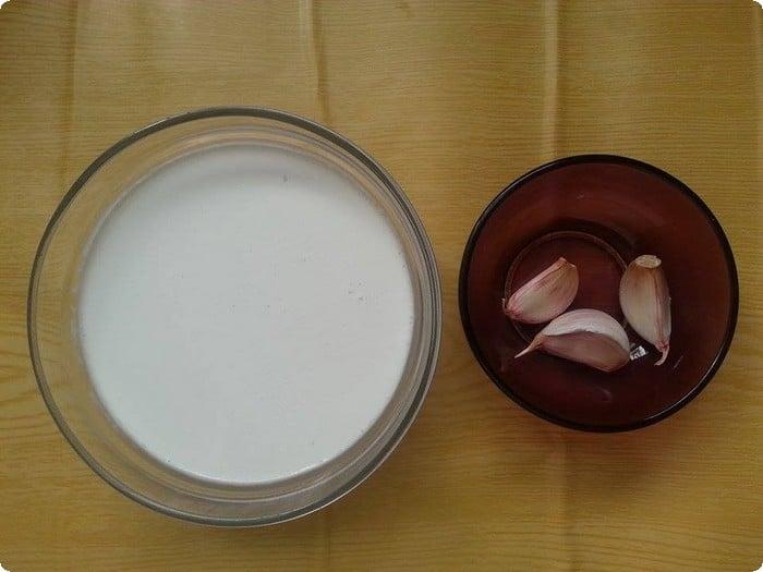 وصفة الثوم مع زيت جوز الهند وزيت جوز الهند