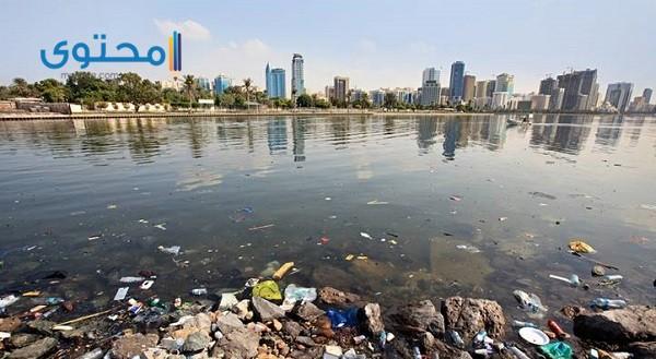 مصادر تلوث نهر النيل