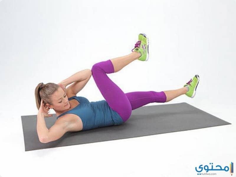 بعض التمارين الرياضة للتخلص من الكرش