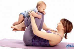 تمارين ترهلات البطن بعد الولادة