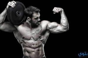 تمرينات تضخيم عضلة المجنص