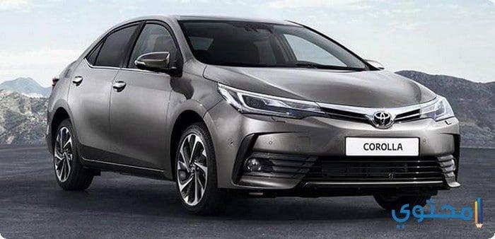 أسعار سيارات تويوتا كورولا الجديده 2019