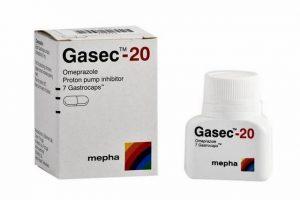 جازيك Gasec لعلاج قرحة المعدة والحموضة