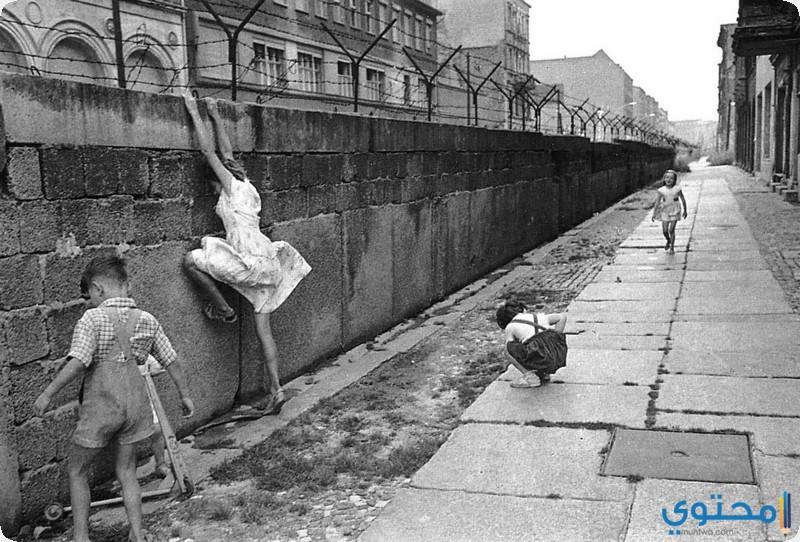 جدار برلين قديما