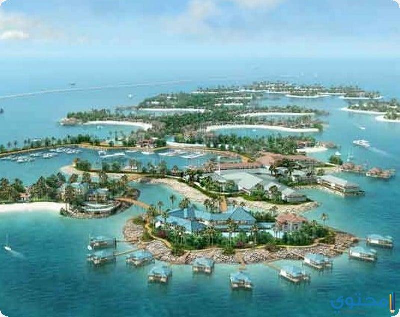 جزر العالم