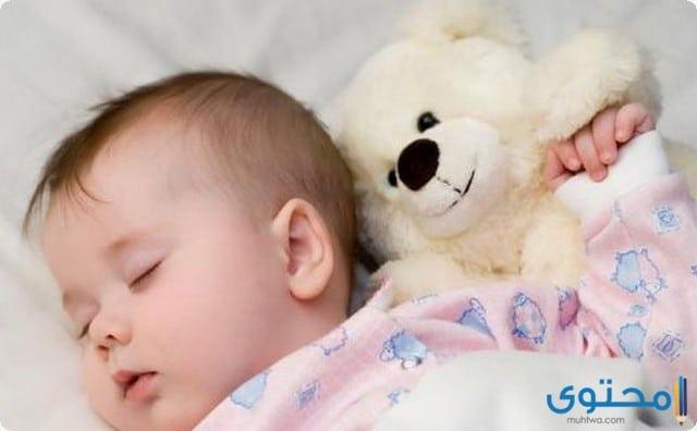 جعل الطفل ينام طوال الليل