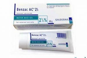 بنزويل بيروكسيد Benzoyl Peroxide لعلاج حب الشباب
