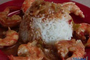 بالصور طريقة عمل الجمبرى بالأرز
