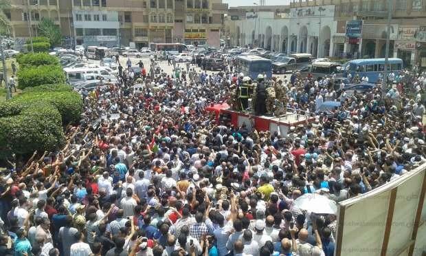 صور جنازة الشهيد احمد المنسي