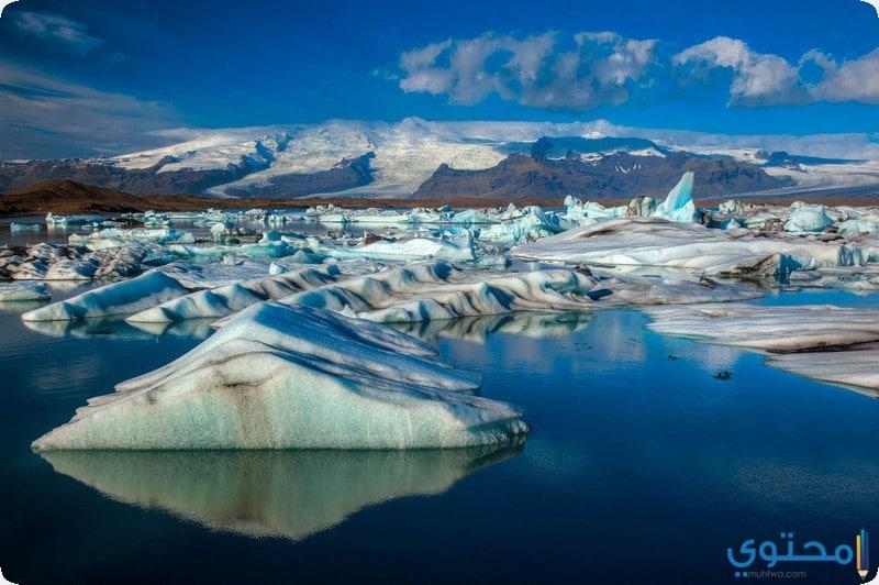 بحيرة جوكولسارلون الجليدية