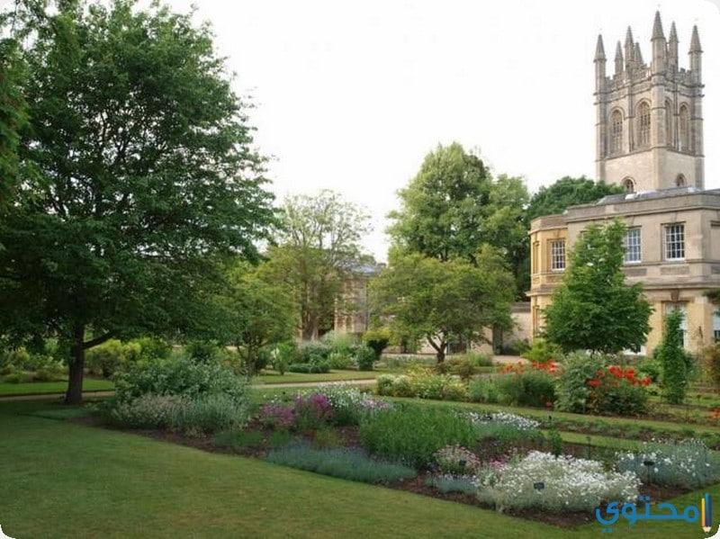 حدائق جامعة أكسفورد