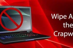 كيفية حظر البرامج ذاتية التثبيت Crapware