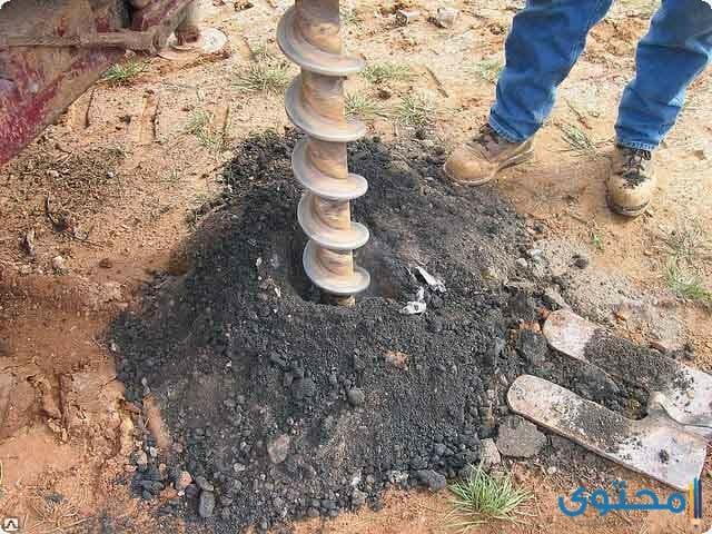 حفر بئر