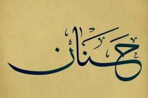صفات ومعنى اسم حنان