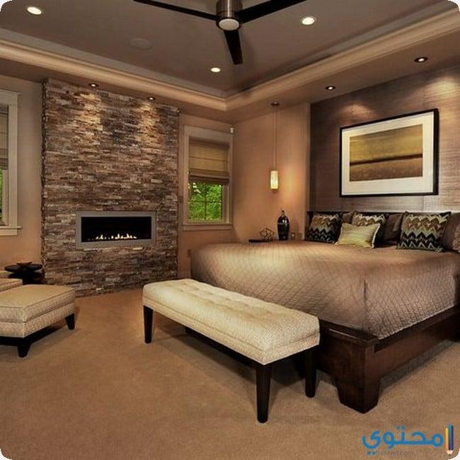 ديكور حوائط غرف نوم متنوعة وحصرية - موقع محتوى