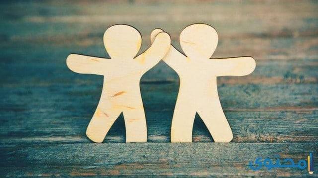 حوار بين شخصين عن الصداقة سؤال وجواب قصير موقع محتوى