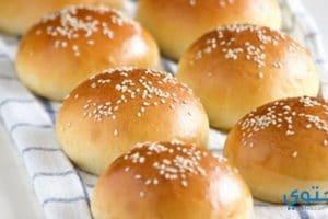 طريقة عمل خبز البرجر فى البيت