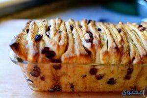 طريقة تحضير خبز بالزبيب والقرفة
