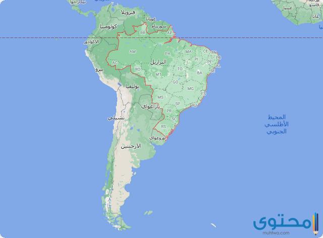 خريطة الأرجنتين