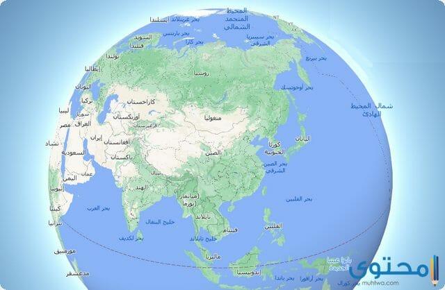 خريطة الصين