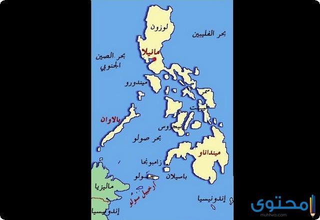 خريطة الفلبين