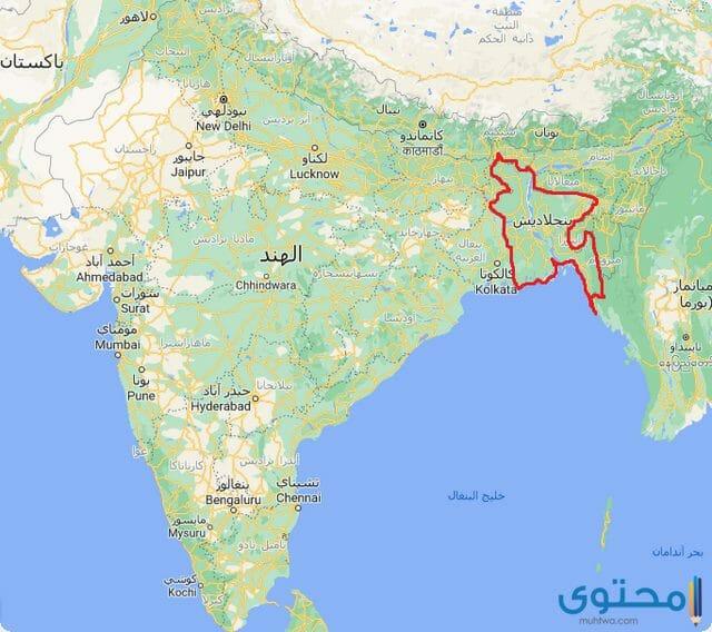 خريطة الهند