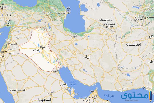 خريطة ايران