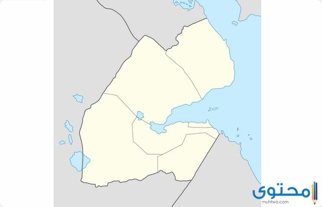 خريطة جيبوتي