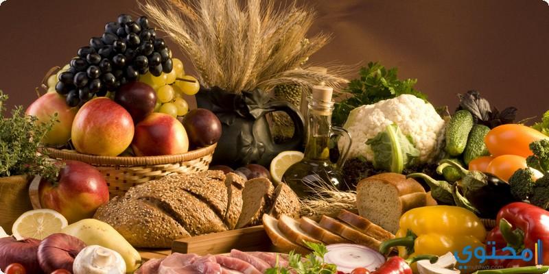 تناول أغذية تحتوى على ألياف غذائية